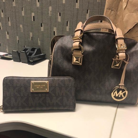 266042d05b94 Michael Kors Bags | Mk Grayson Purse And Wallet | Poshmark